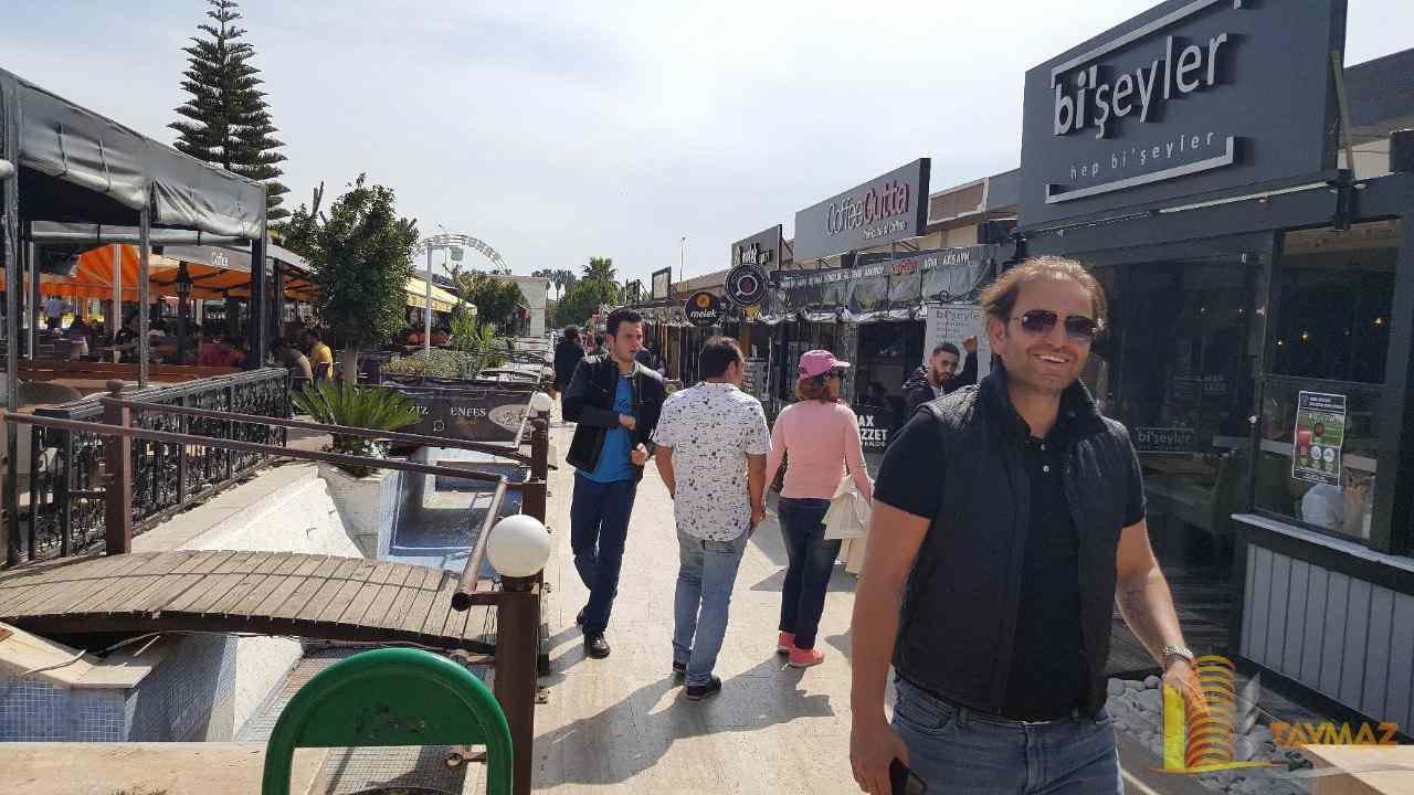 واگذاری کافه فعال در آنتالیا
