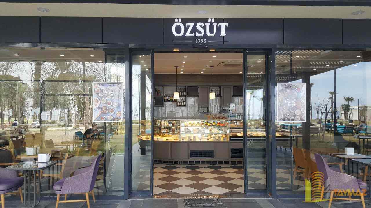واگذاری مغازه کافه در آنتالیا