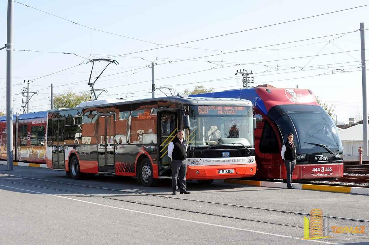 antalya transportation - حمل و نقل آنتالیا